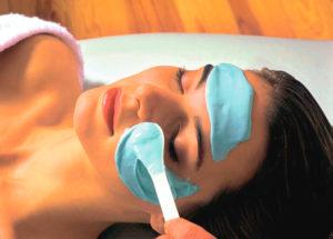 Альгинатная маска для кожи