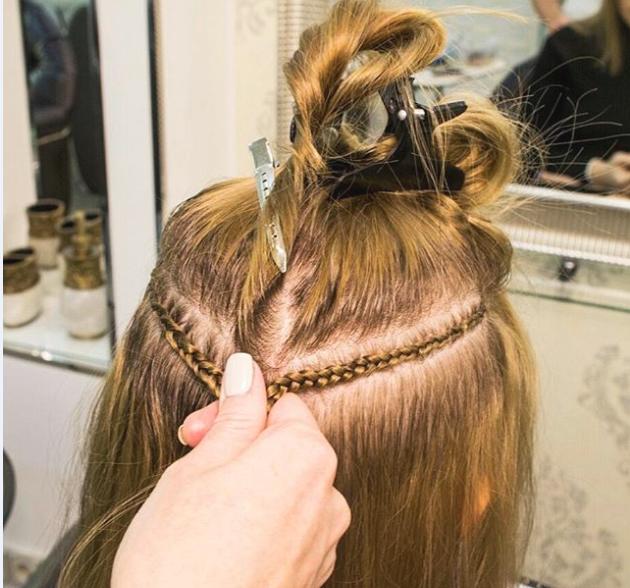 Косичка для наращивания волос