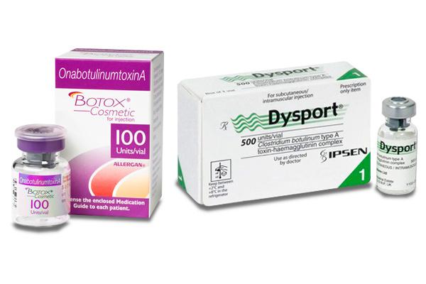 Ботокс или Диспорт - средства для омоложения