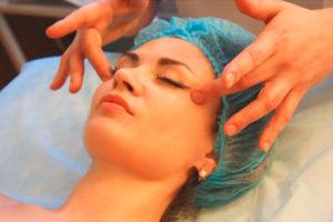 Сеанс массажа для омоложения
