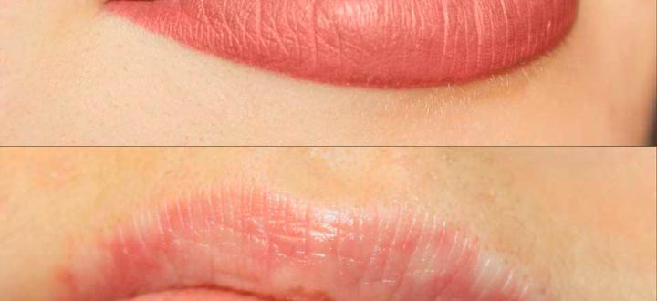 Татуаж перманентный губ