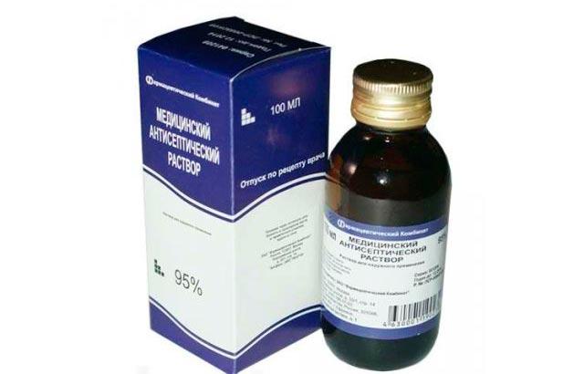 Антисептические растворы для ухода за кожей после лифтинга