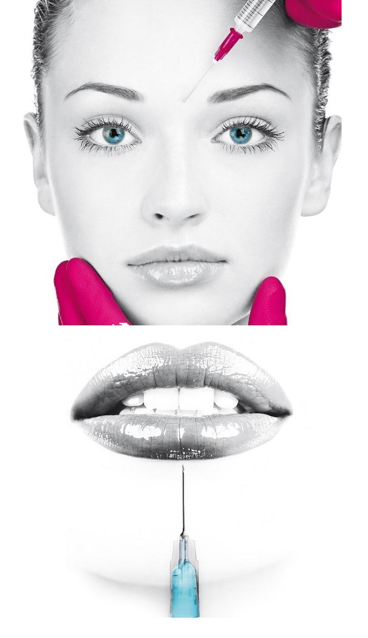 Красивые губы с гиалуроновой кислотой