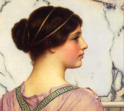 Греческая красавица