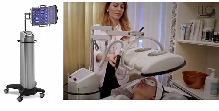 Аппарат для фототерапии в салоне