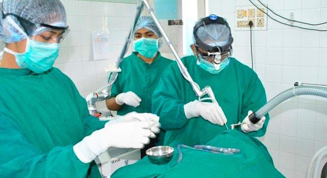 Операция методом резекции-реимплантации