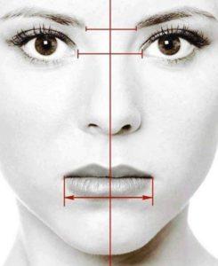 Нормальная асимметрия лица