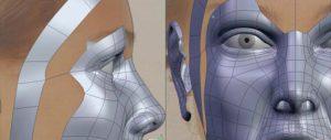 Объемная модель нового носа