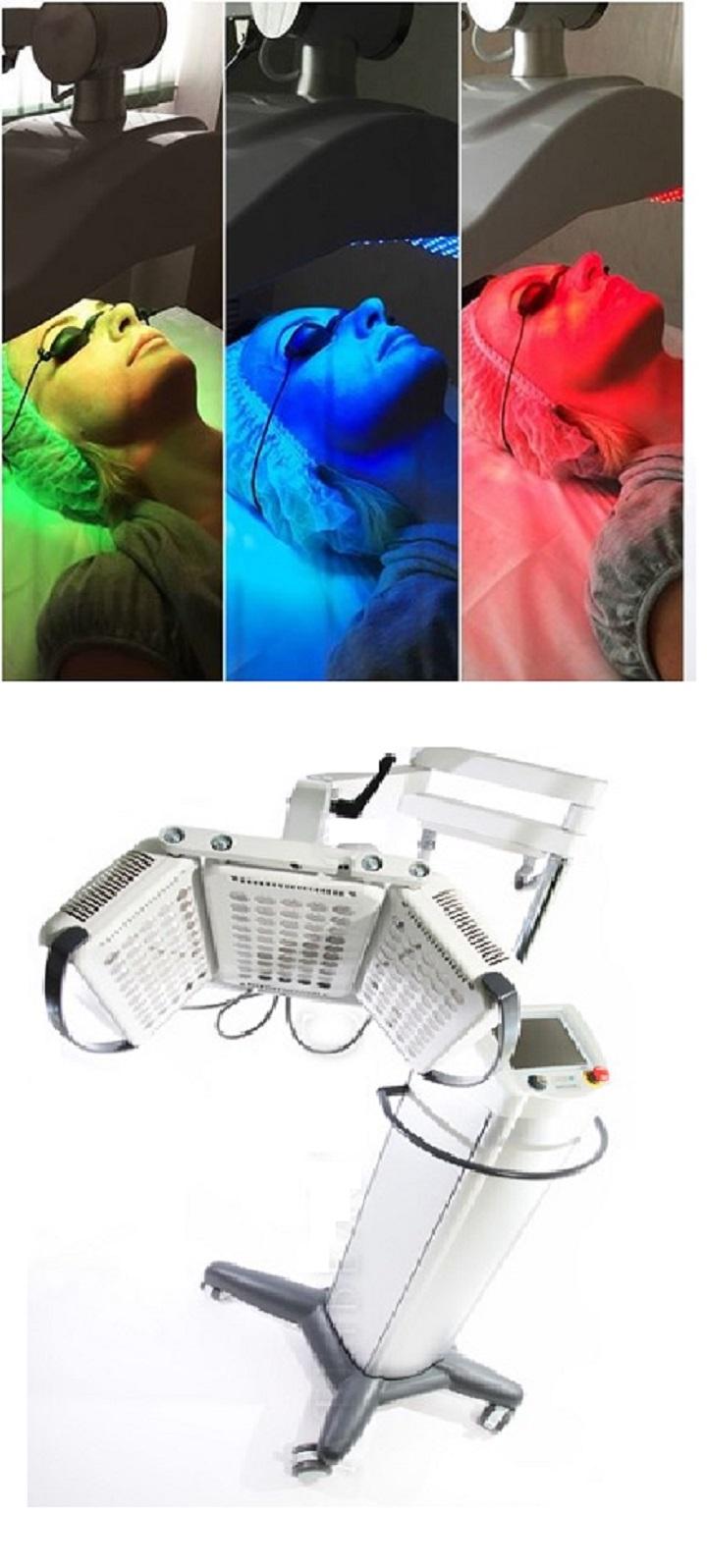 Спектры аппарата для фототерапии