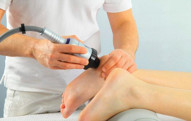 Ударно-волновая терапия для стоп