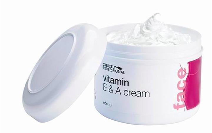 Крем с содержанием витамина Е