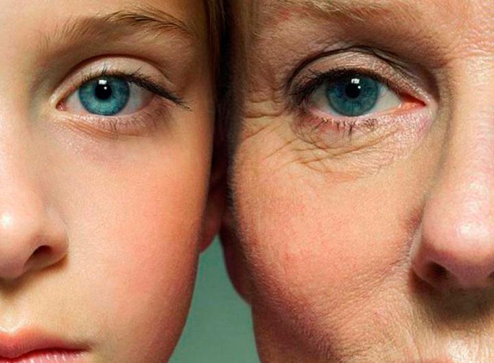 Старение кожи - показание к применению пилинга