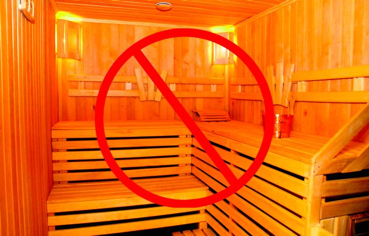 После биоревитализации нельзя посещать бани и сауны