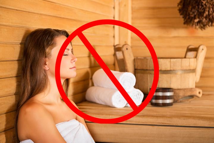 Нельзя после лазерного пилинга посещать бани