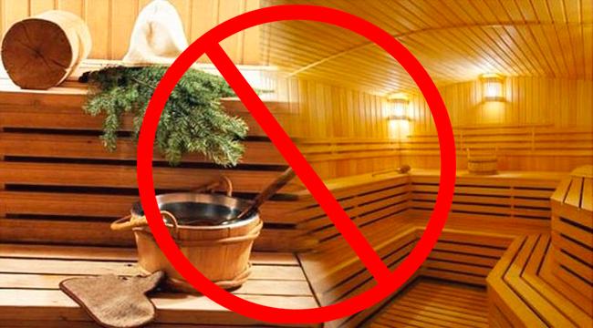 Нельзя посещать сауны и бани после ринопластики