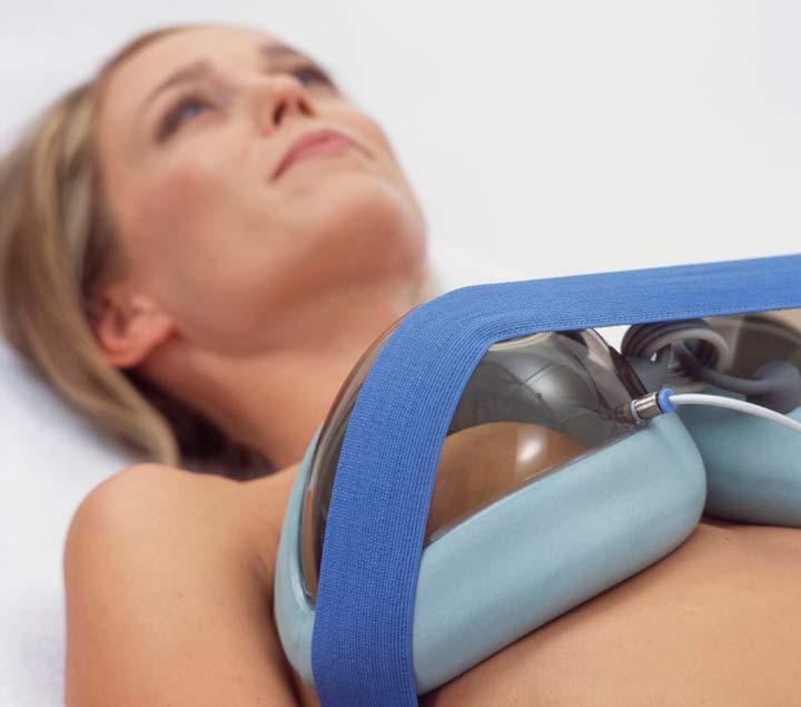 Аппаратный лифтинг груди
