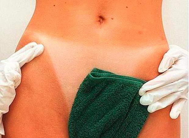Распаривание кожи и ее размягчение
