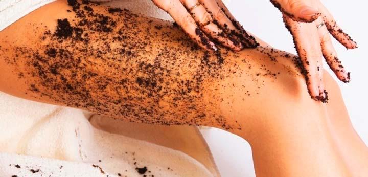 Скрабирование кожи перед эпиляцией