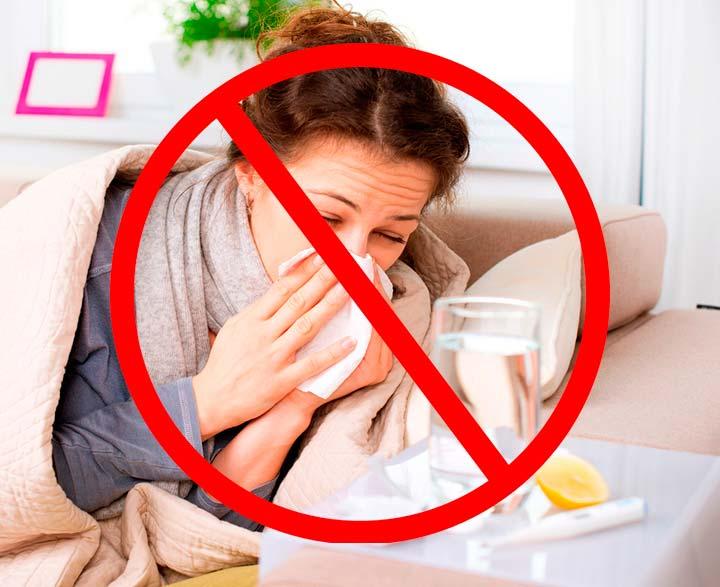 Запрещено применение филлеров при различных инфекционных заболеваниях организма