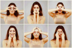 6 упражнений для лица