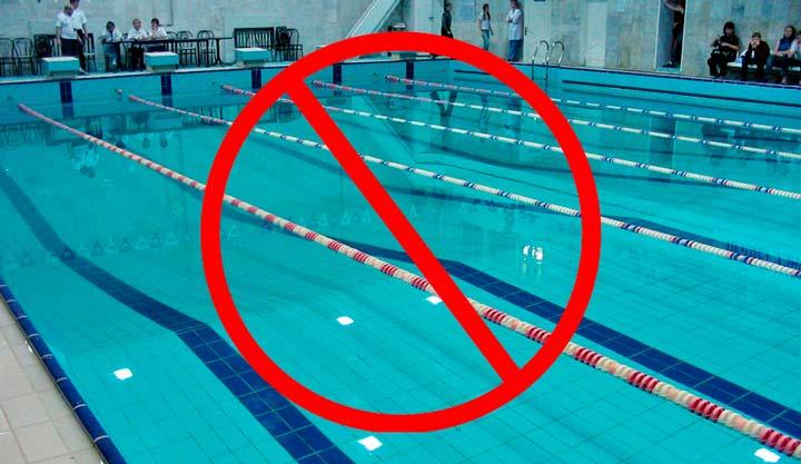 После процедуры татуажа бровей не рекомендовано посещение бассейна