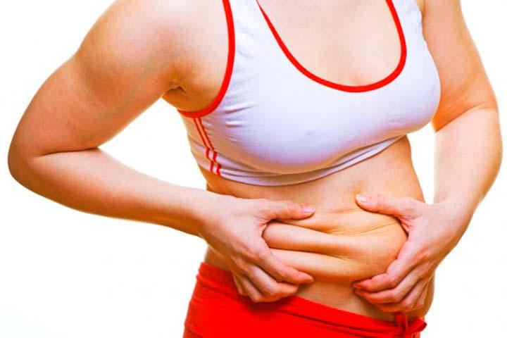 Отсутствие талии из-за жира