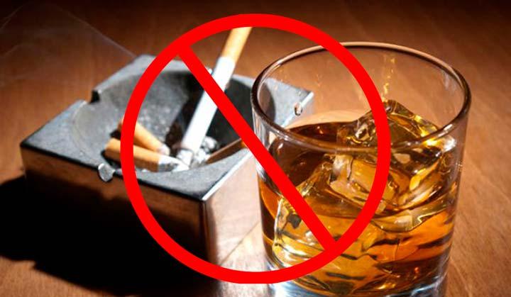 Отказ от алкоголя и сигарет за 2 недели до абдоминопластики