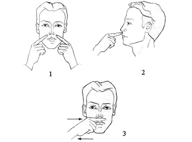 Уменьшение длины кончика носа при помощи упражнений