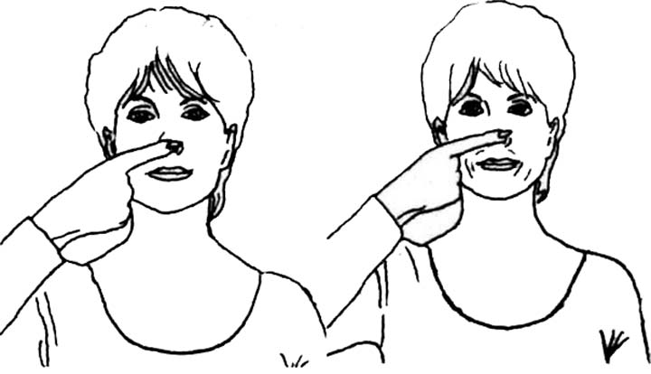 Коррекция длины и ширины носа при помощи упражнений