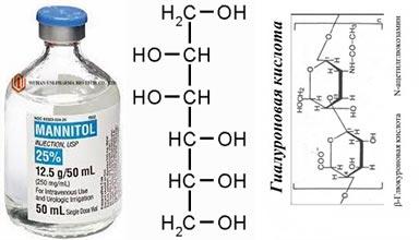 Миннитол и глауриновая кислота