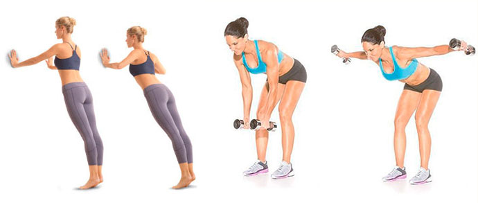 Фитнес для мышц груди