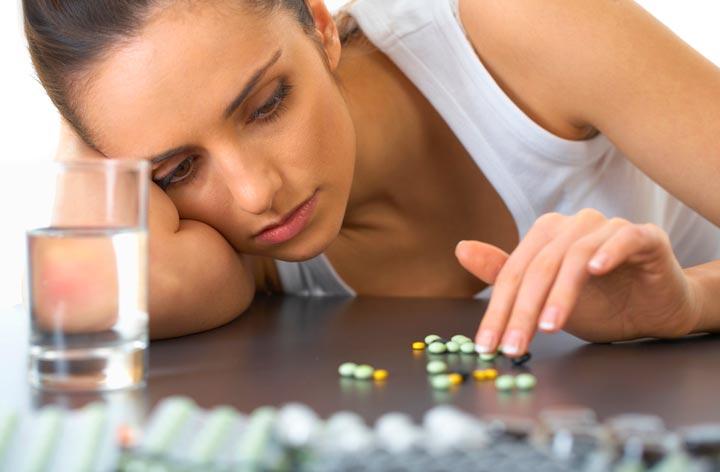 Употребление антидепрессантов может привести к появлению конглобатных прыщей