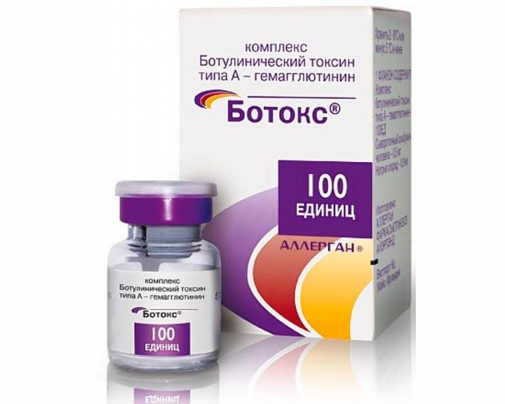 Препарат Ботокс для избавления от носогубных складок