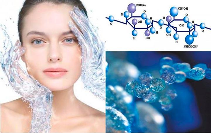 Гиалуроновая кислота - одно из составляющих Мезоксантина