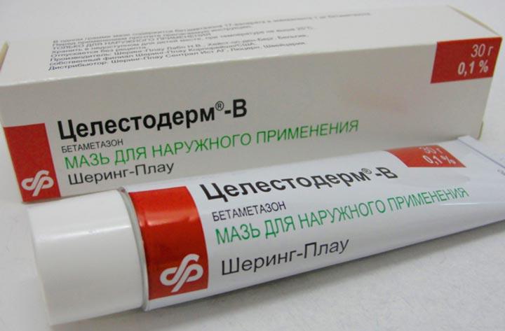 Сильные гормональные мази для лечения экземы