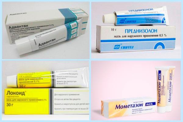 Кортикостероидные мази для лечения красного плоского лишая