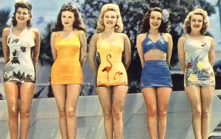 Женская мода 60-ых