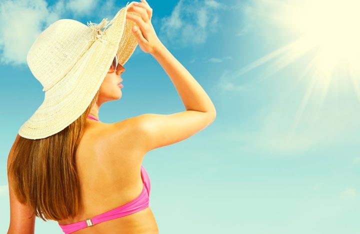 Обязательно нужно ограничивать пребывание под открытыми солнечными лучами