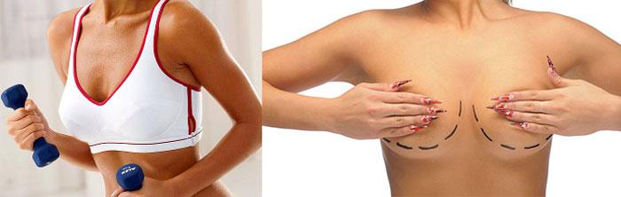 Массаж и упражнения для роста груди