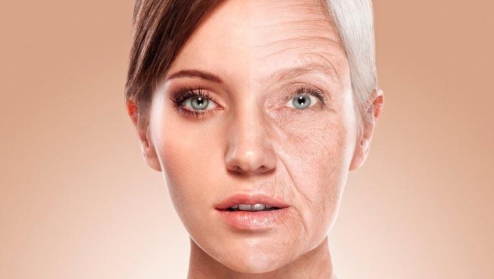 Старение кожи с возрастом