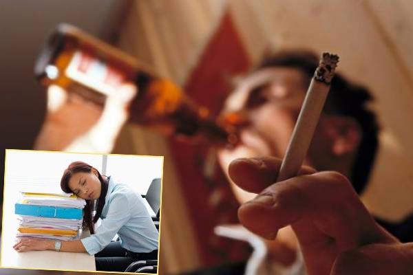 Хроническая усталость и нездоровый образ жизни