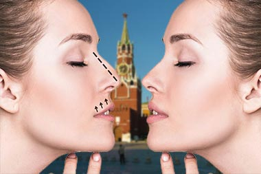 Коррекция формы носа в Москве