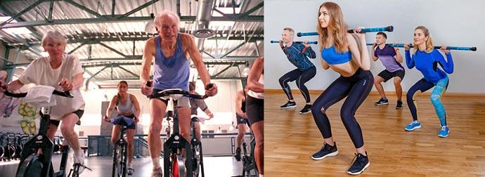 Велотренажеры и фитнес