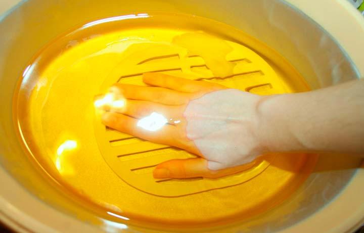 Парафиновые ванночки с фильтром на дне