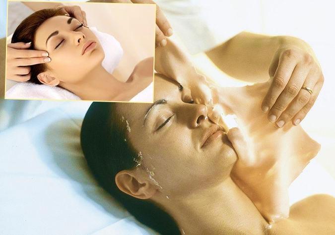 Маски и массажи лица