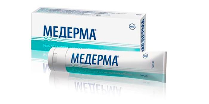 Крем-гель «Медерма» от растяжек