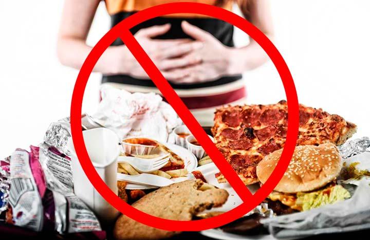 Запрещено переедание после липосакции