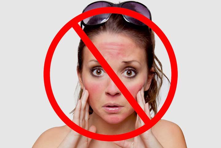 Запрещено проведение ТСА-пилинга при свежем загаре