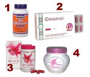 4 растительных препарата для увеличения груди
