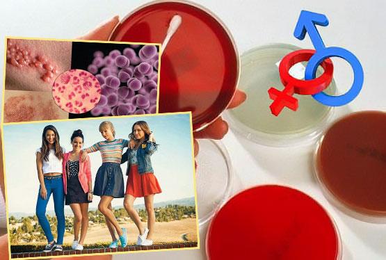 Венерологические заболевания и несовершеннолетнеи девушки